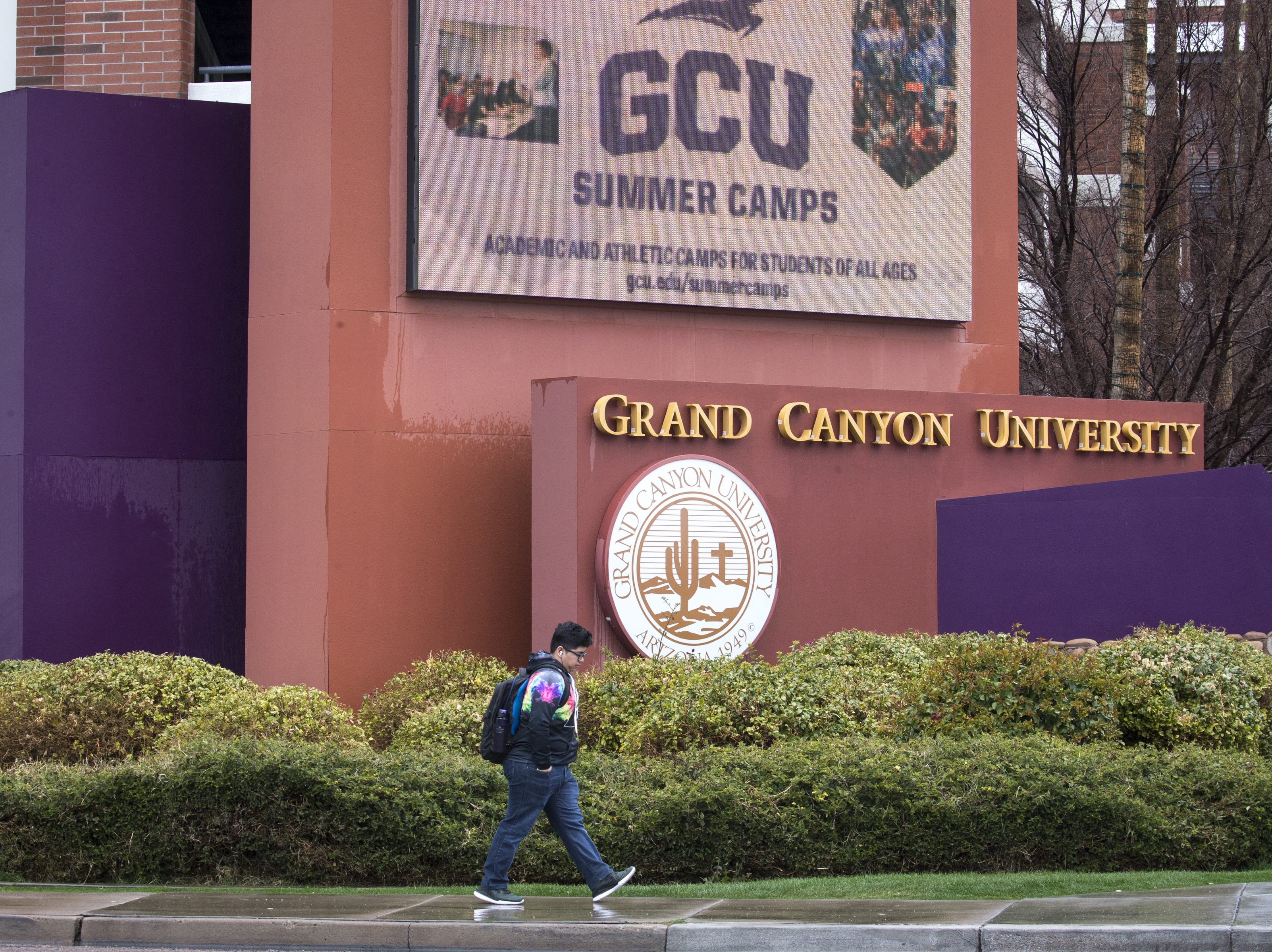 Grand Canyon University, February 21, 2019, at 3300 W Camelback Rodd, Phoenix.