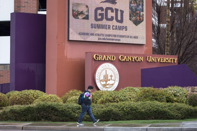 Grand Canyon University at 3300 W. Camelback Road in Phoenix, pictured here on Feb. 21, 2019.