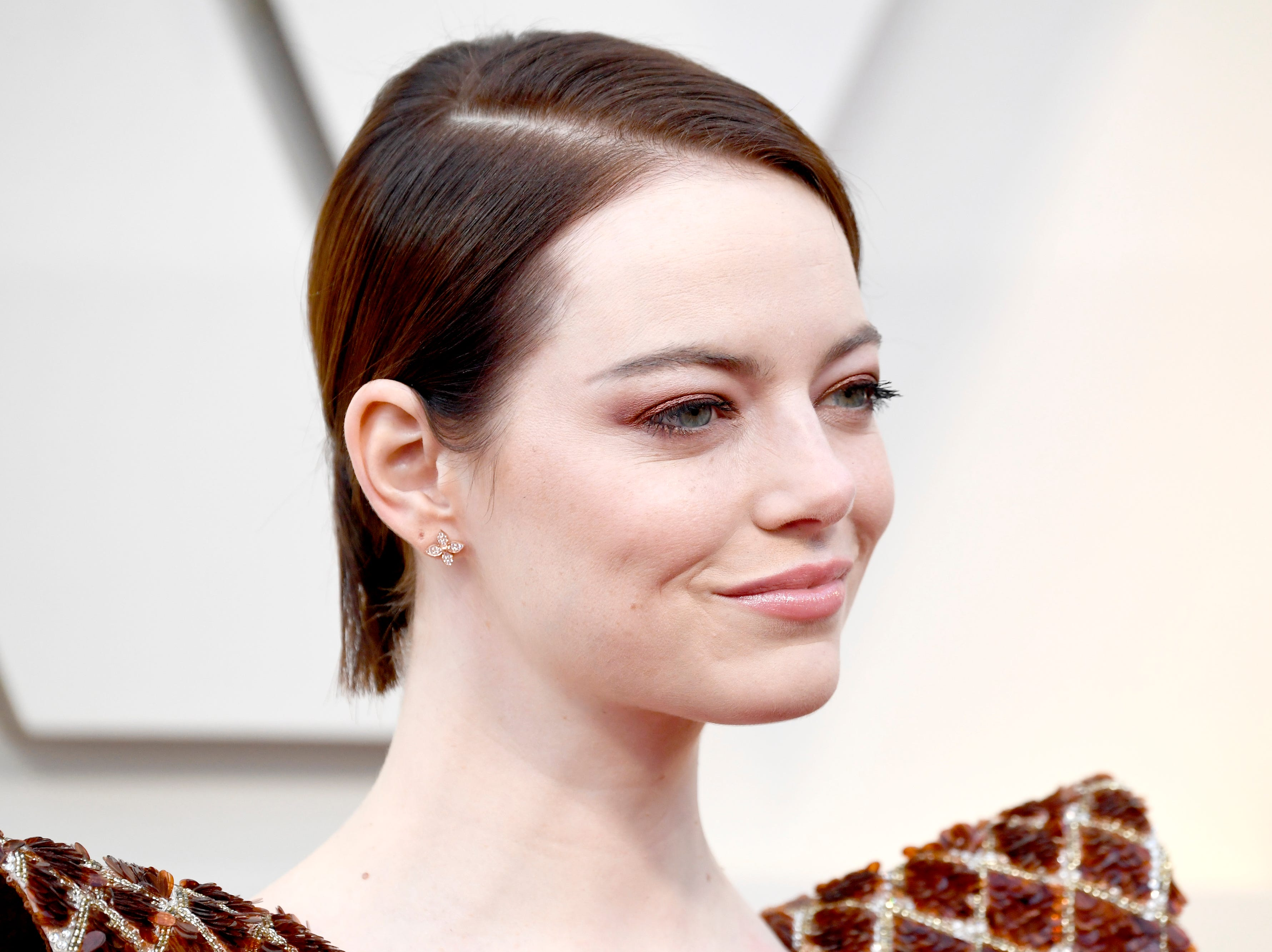 Emma Stone attends the 91st Annual Academy Awards on Feb. 24, 2019, in Hollywood, California.