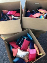 Demetra Presley of the nonprofit Go With the Flow delivers an average of 1,000 packs of free menstrual products to schools in 10 local districts every month.