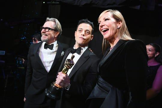 """Rami Malek ganó como Mejor Actor por su actuación en """"Bohemian Rhapsody""""."""