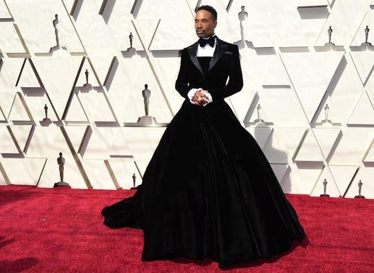 Billy Porter a su llegada a la 91 Entrega de los Premios Oscar de la Academia Cinematográfica de Hollywood el 24 de febrero de 2019 en Hollywood, California.
