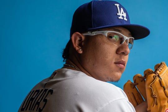 Julio Urías, pitcher de los Dodgers