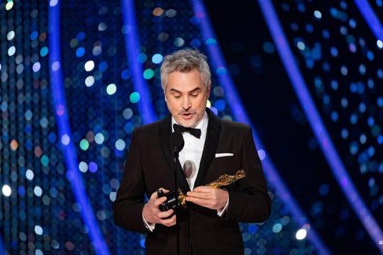 Alfonso Cuarón se lleva el Premio Mejor Director en los Oscar.