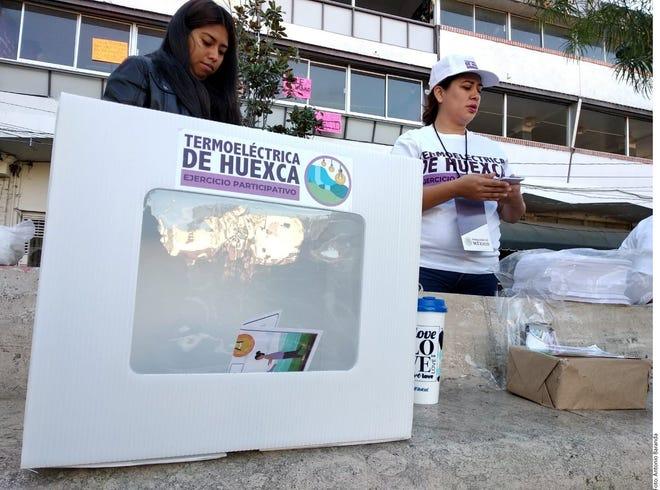 """La consulta ciudadana por la Termoeléctrica de Huexca es el primer """"ejercicio participativo"""" que organiza el Gobierno de AMLO."""