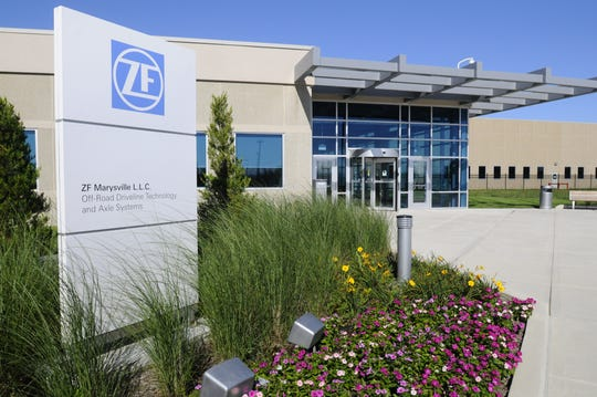 The auto supplier ZF plant in Marysville will be temporarily shut down while its customer Fiat Chrysler Automobiles is closed through the end of March.