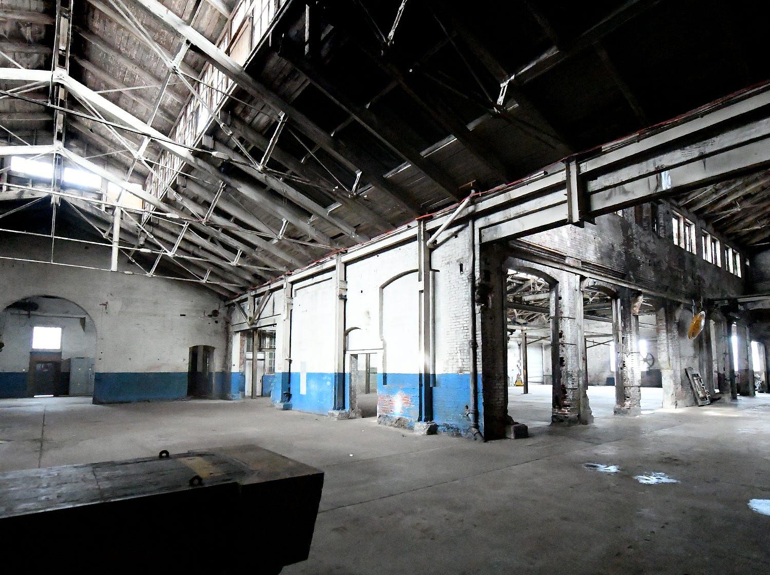 The former Pewtarex Foundry in York City Friday, Feb. 22, 2019, is being redeveloped by Royal Square. Bill Kalina photo