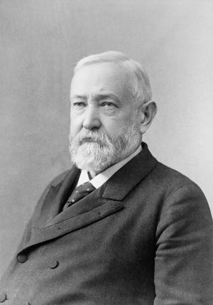 Benjamin Harrison was the 23rd president of the United States and the president who visited East Central Indiana for the longest period of time. Harrison (post presidency) was a lawyer in the scandalous Morrisson Will Case, the longest jury trial of the 19th century. The proceedings took place in the present Wayne County Courthouse.