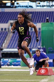 Tremaine Edmunds was impressive at the 2018 combine, and the Bills ultimately picked him in the first round.