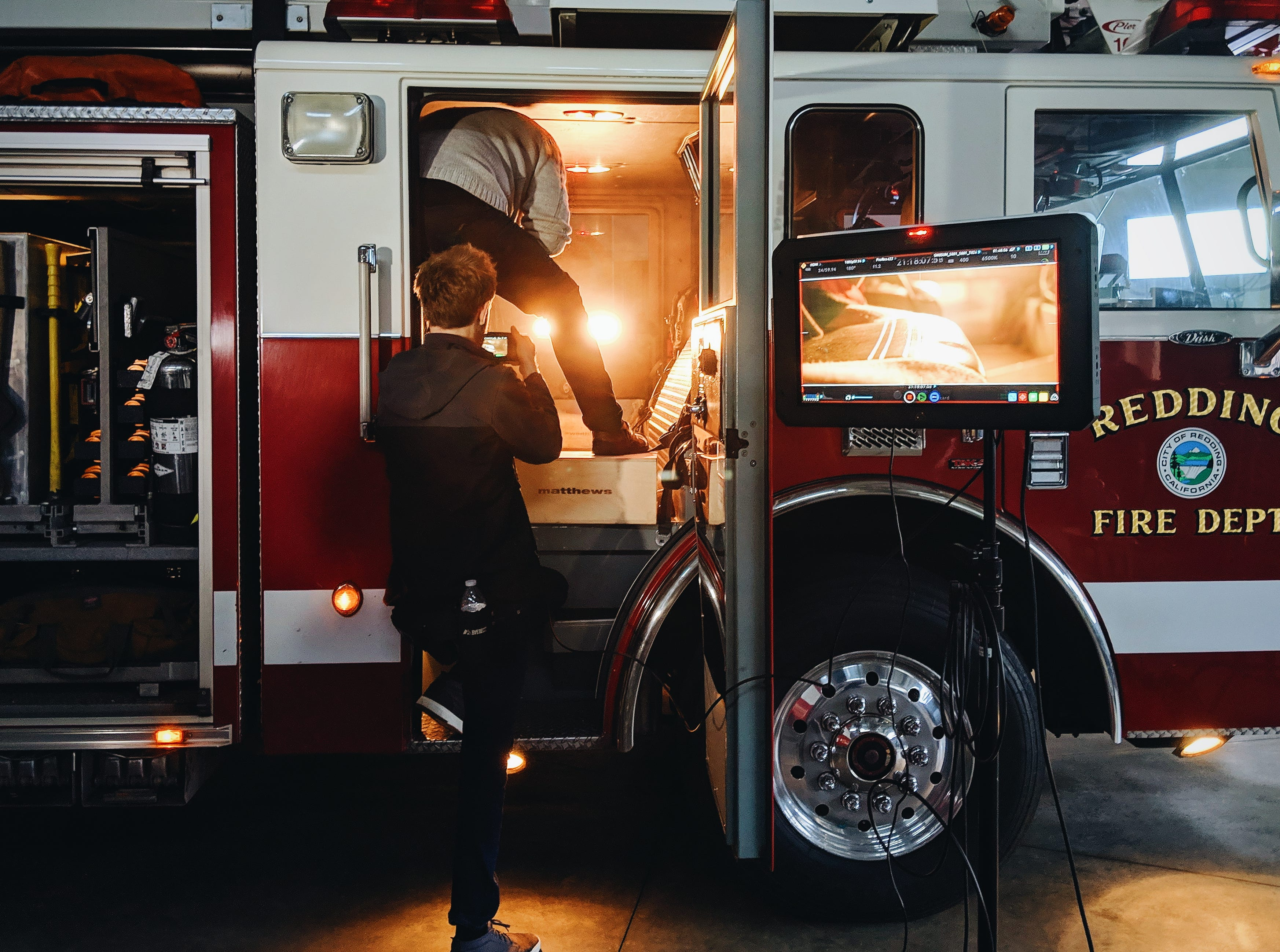 """Crew shot from the film """"Stronger than Carr:"""" the film documents the heroism and kindness that followed the Carr Fire."""