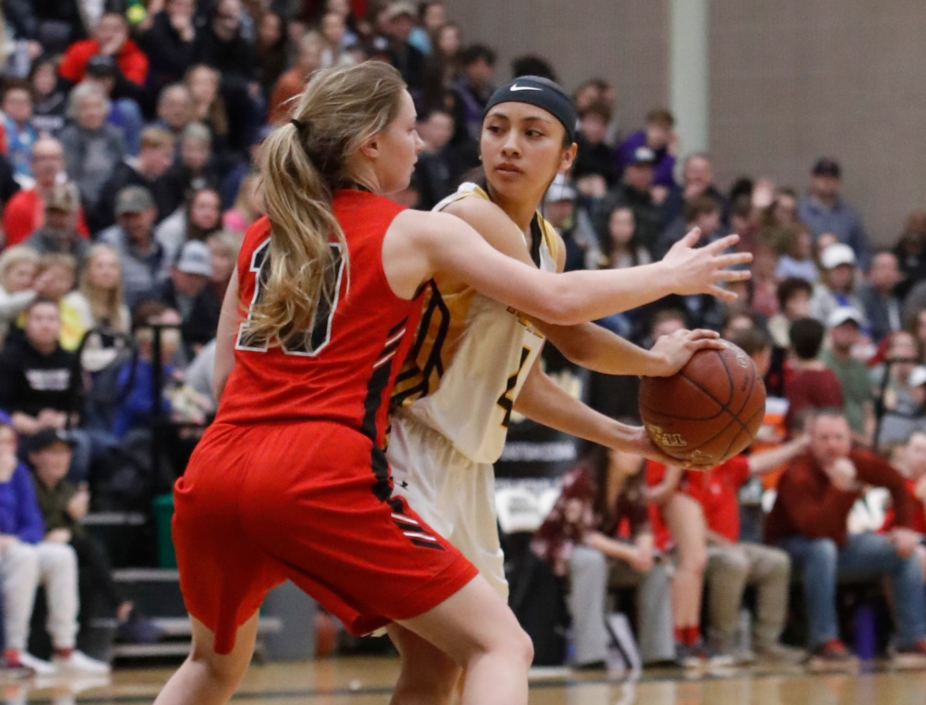 Enterprise beat Foothill 71-50 to win the Division III Northern Section championship at Shasta College on Saturday, Feb. 23.