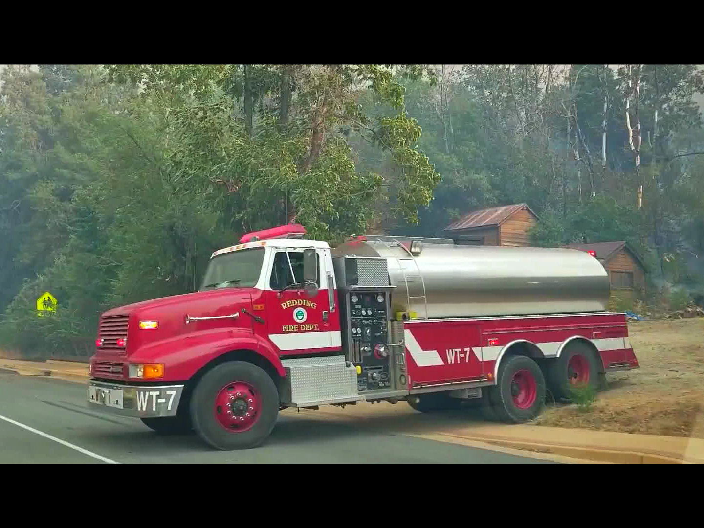 """Still from the film """"Stronger than Carr:"""" The film documents the heroism and kindness that followed the Carr Fire."""