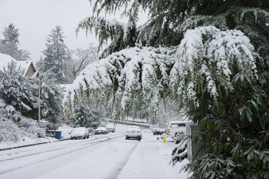 Views from around South Salem where residents woke up to a couple inches of snow.