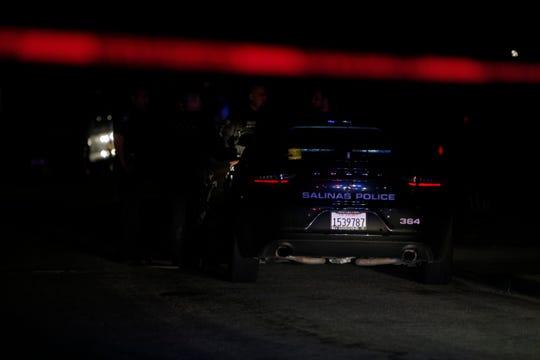 FILE PHOTO: Salinas police investigate a shooting Feb. 25, 2019.