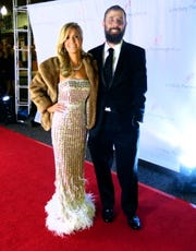Dr. Lindsey Pennington and Andrew Larson on the Red Carpet at The Robbys