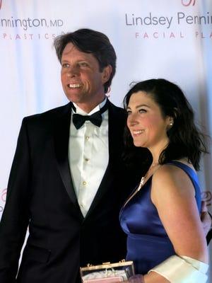 Michael and Jennifer Butterman.