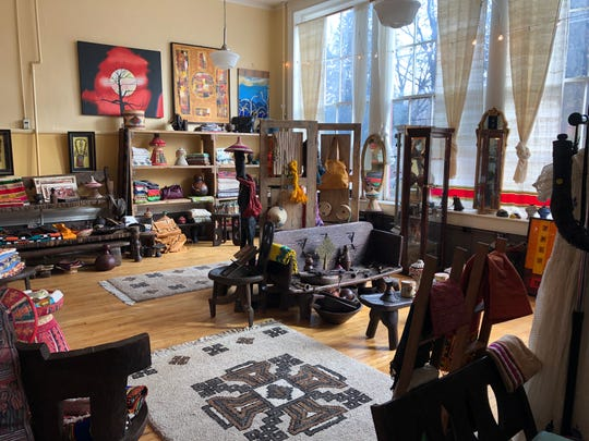Zewdinesh Alemayehu originally opened her store Zewd's Arts, Crafts and More in Staunton's old Stonewall Jackson Schoolhouse on Beverley Street. The store offers goods she collected from her home in Ethiopia. She has since moved down the street to 13 E. Beverley St.