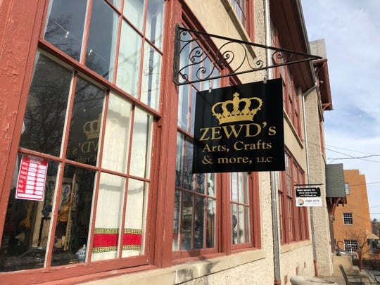 Zewdinesh Alemayehu opened her store Zewd's Arts, Crafts and More in Staunton's old Stonewall Jackson Schoolhouse on Beverley Street. The store offers goods she collected from her home in Ethiopia.