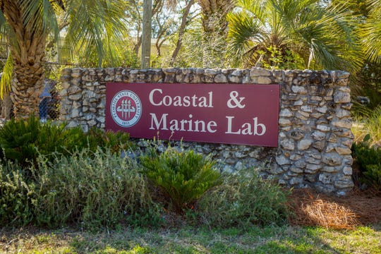 The FSU Coasal & Marine Lab is located in St. Teresa, Florida