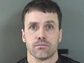 Roy Edward Landman, 42, of Bensalem, Pennsylvania, charged with soliciting prostitution
