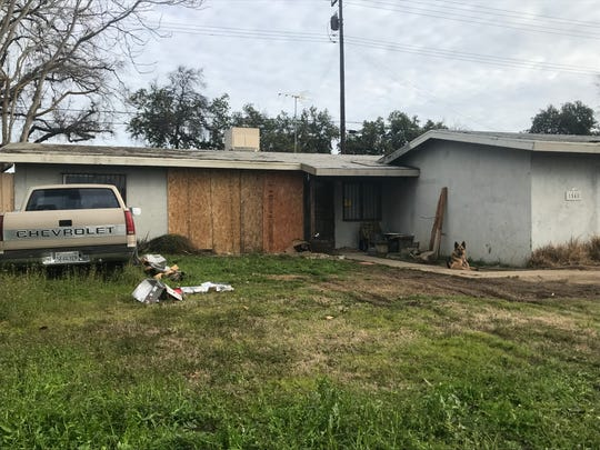 On Sunday,Visalia police officers and firefighters were called to a home in the 1500 block of East Cecil Avenue in northeast Visalia for reports of a vehicle into a residence.