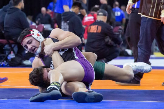 Mission Oak's Nicholas Zavala finished in fifth place in the 160-pound division on Saturday at the CIF State Wrestling Championships in Bakersfield.