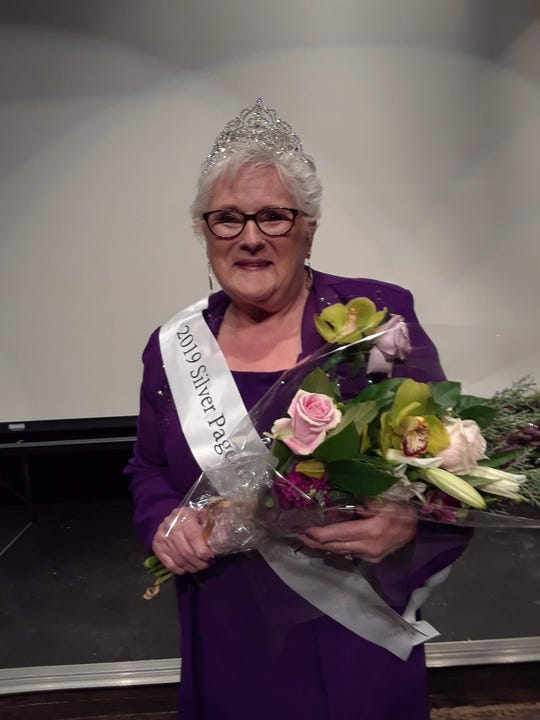 Eunice Schultz was chosen by a panel of judges as the winner of the first-ever Wausau Area Silver Pageant on Saturday at Wausau East High School.
