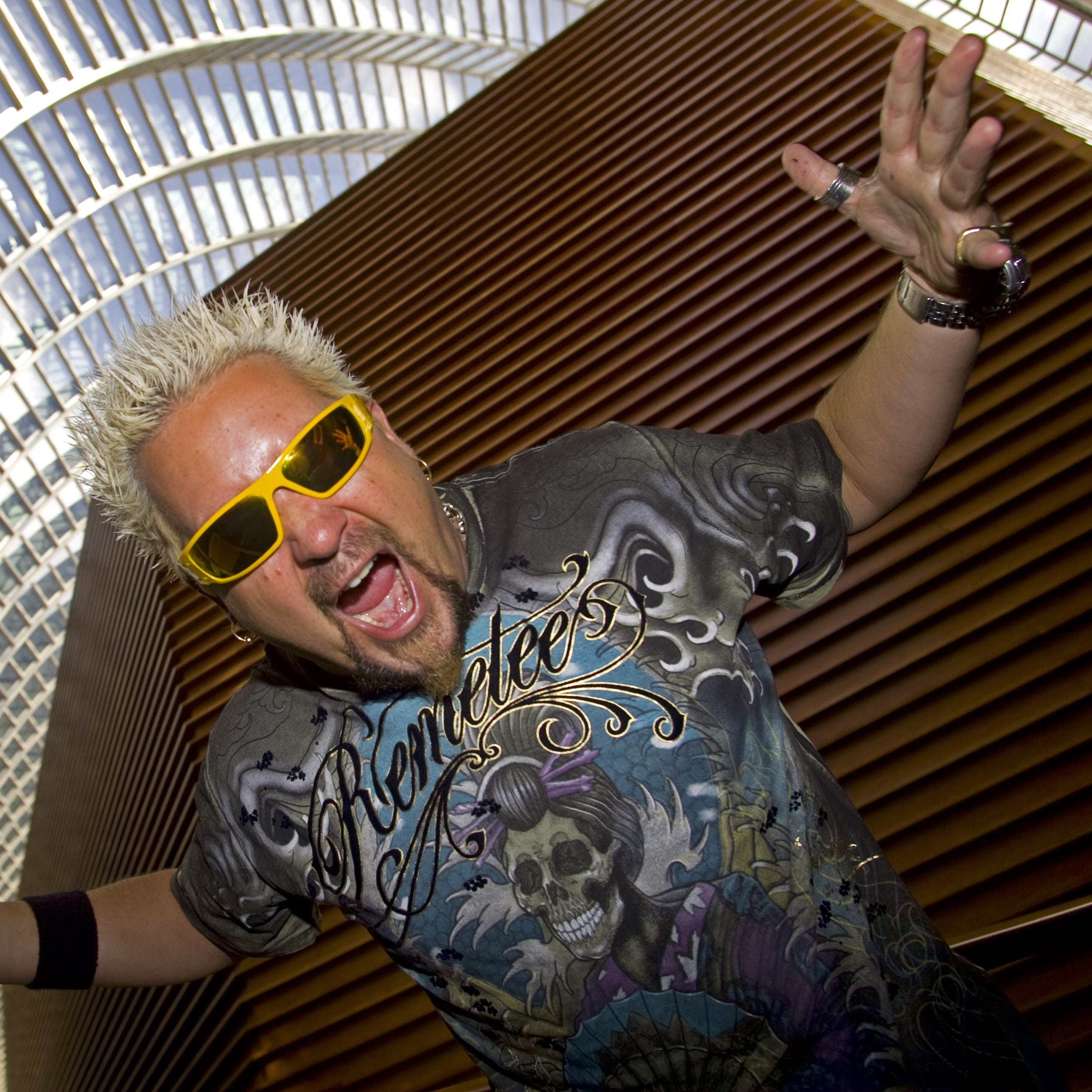 Food Network star Guy Fieri's visits to Delaware restaurants begin airing May 24