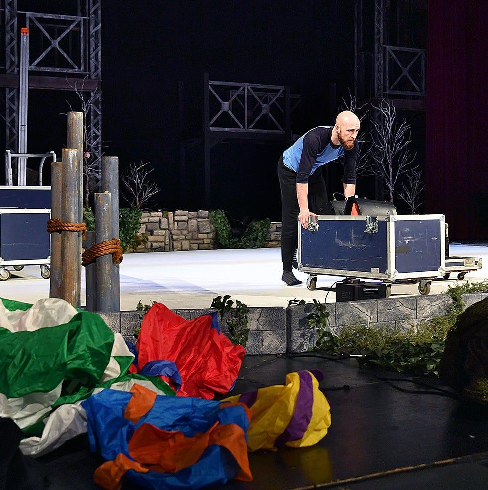 Last-minute conflict at Memorial Auditorium sends ice skating show to Wichita Theatre