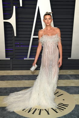 BEVERLY HILLS, CALIFORNIA - FEBRUARY 24: Georgia Fowler attends 2019 Vanity Fair Oscar Party Hosted By Radhika Jones   at Wallis Annenberg Center for the Performing Arts on February 24, 2019 in Beverly Hills, California. (Photo by Daniele Venturelli/WireImage) ORG XMIT: 775299466 ORIG FILE ID: 1132047373