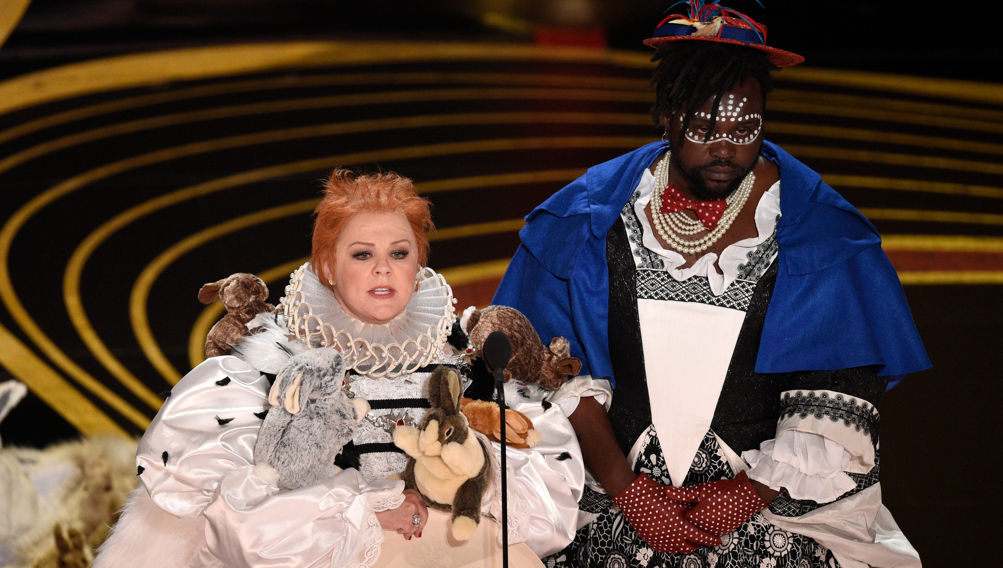 Oscars 2019 Twitter Wants Melissa Mccarthy To Host After Puppet Skit