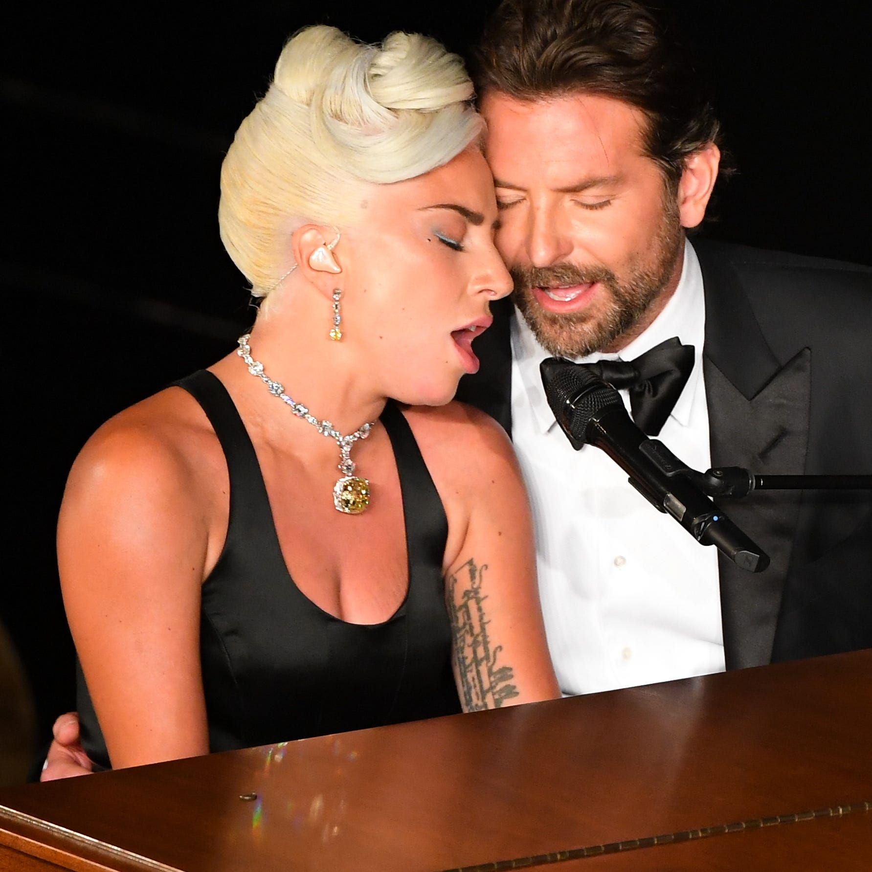 Lady Gaga calls Bradley Cooper 'a true friend' after sexy Oscars performance of 'Shallow'
