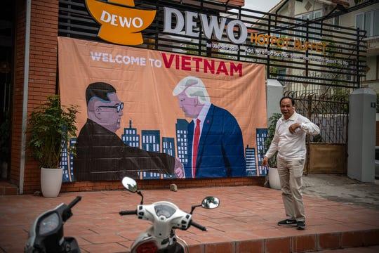 In Hanoi, Vietnam, on Feb. 25, 2019.
