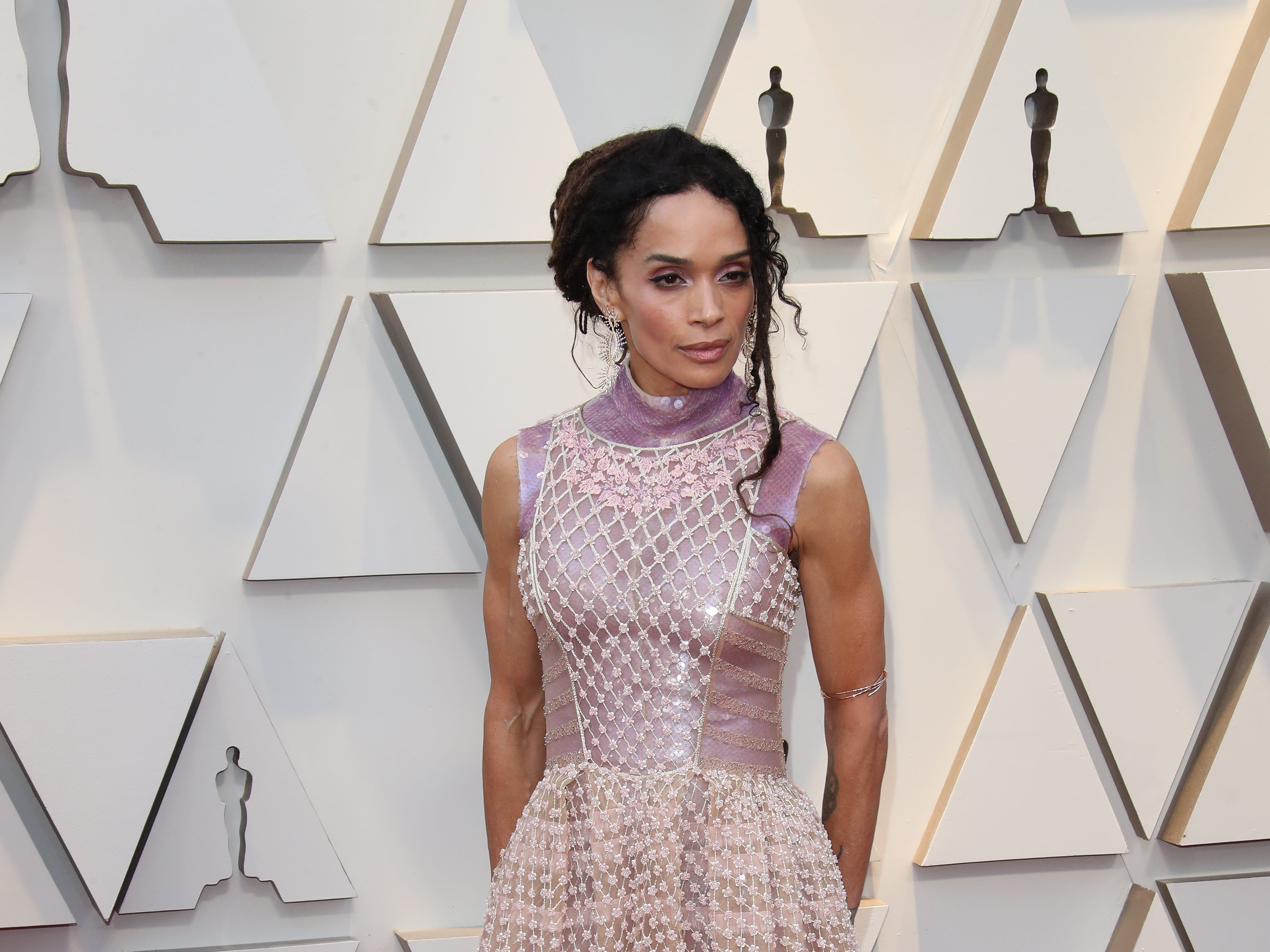 February 24, 2019; Los Angeles, CA, USA; Lisa Bonet arrives at the 91st Academy Awards at the Dolby Theatre. Mandatory Credit: Dan MacMedan-USA TODAY NETWORK (Via OlyDrop)