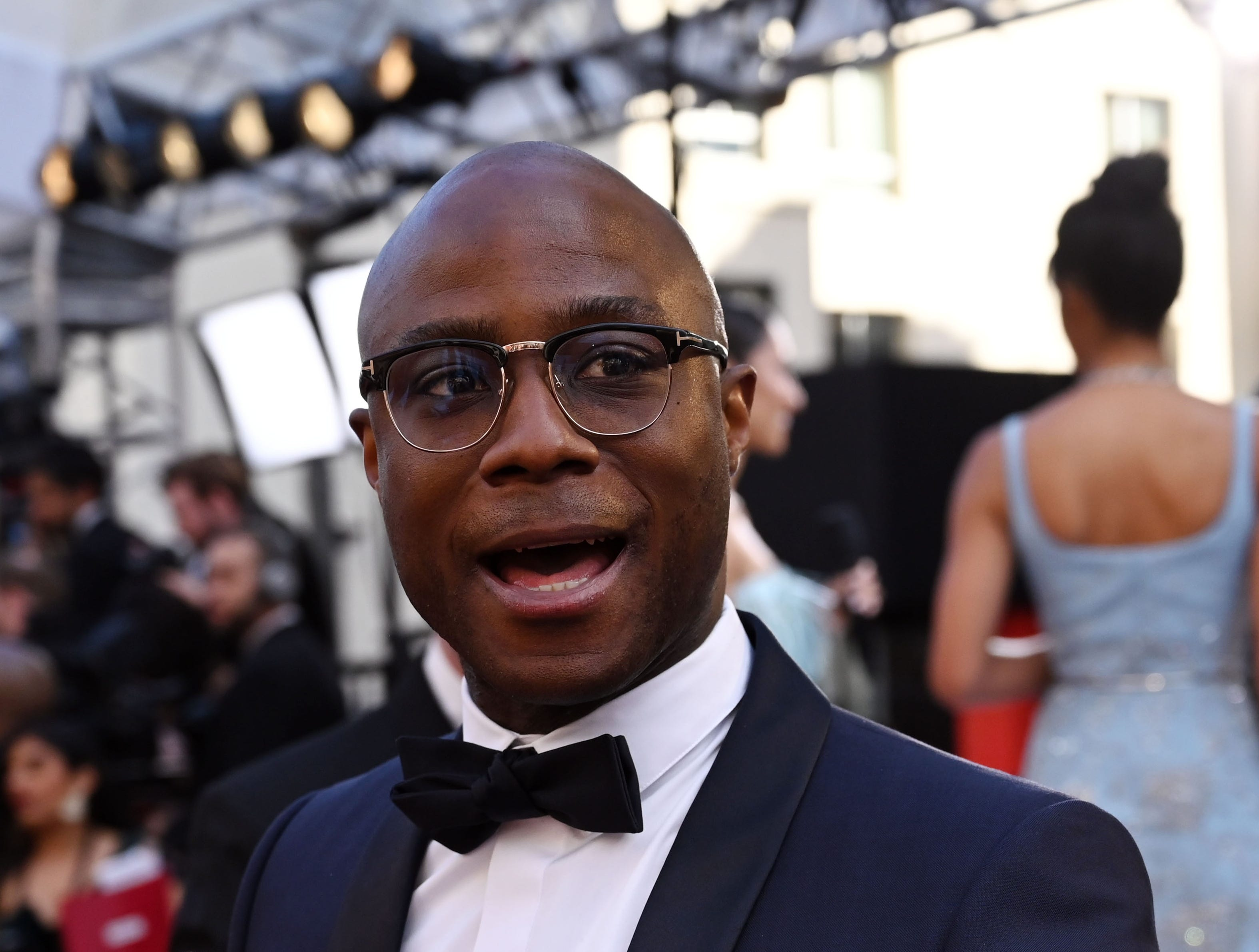 February 24, 2019; Los Angeles, CA, USA; Barry Jenkins arrives at the 91st Academy Awards at the Dolby Theatre. Mandatory Credit: Robert Hanashiro-USA TODAY NETWORK (Via OlyDrop)