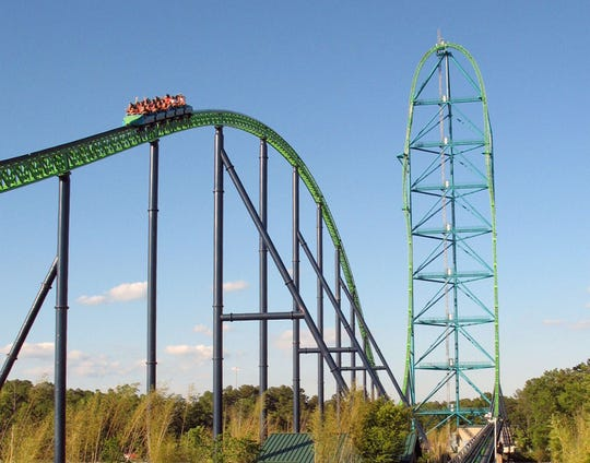 The 10 fastest roller coasters at Six Flags parks