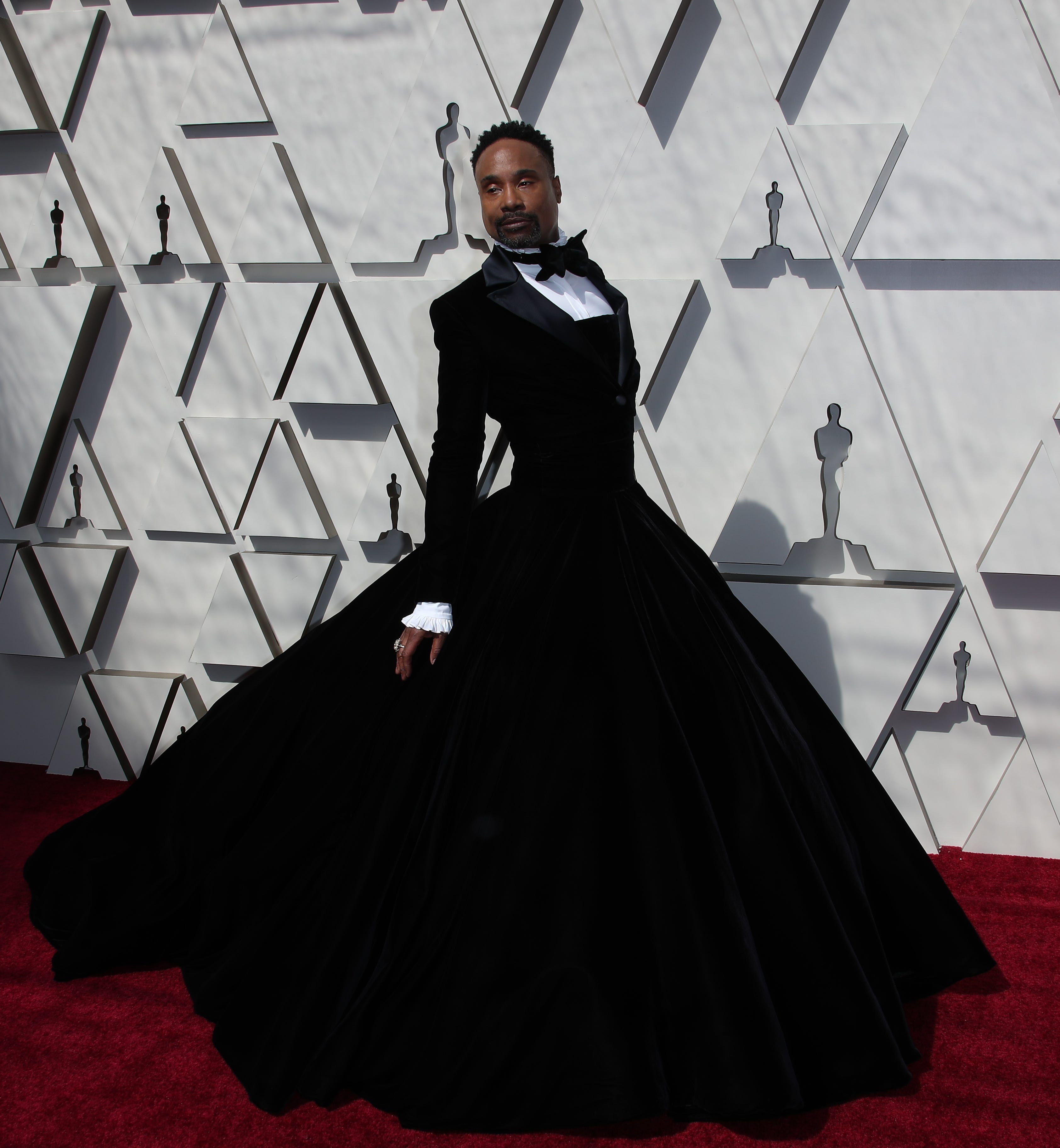 February 24, 2019; Los Angeles, CA, USA; Billy Porter arrives at the 91st Academy Awards at the Dolby Theatre. Mandatory Credit: Dan MacMedan-USA TODAY NETWORK (Via OlyDrop)