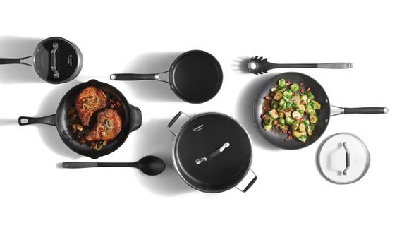 A new cookware set is the perfect motivation to do more home cooking.