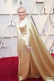 Glenn Close arrives at the 91st Academy Awards at the Dolby Theatre.