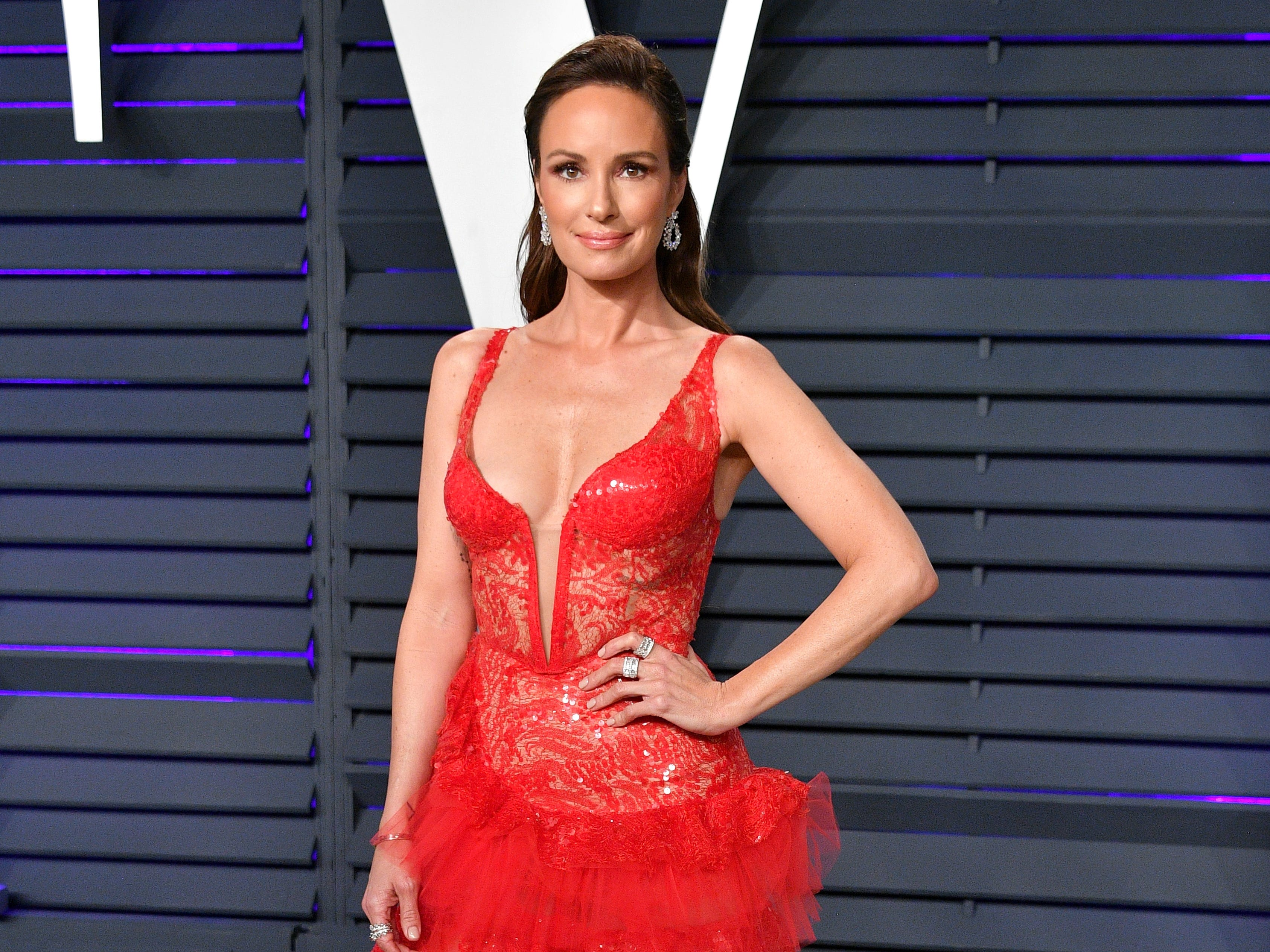BEVERLY HILLS, CA - FEBRUARY 24:  Catt Sadler attends the 2019 Vanity Fair Oscar Party hosted by Radhika Jones at Wallis Annenberg Center for the Performing Arts on February 24, 2019 in Beverly Hills, California.  (Photo by Dia Dipasupil/Getty Images) ORG XMIT: 775287342 ORIG FILE ID: 1127222384