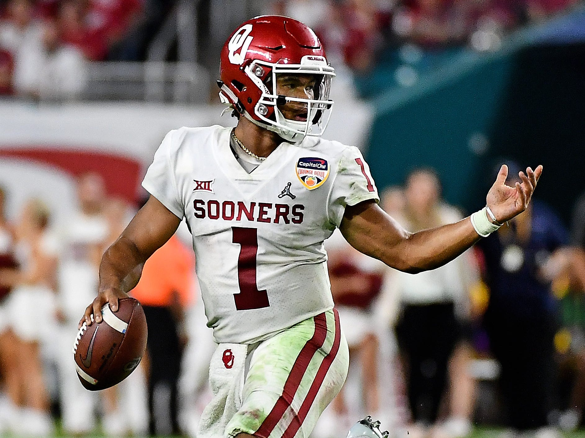 15. Redskins - Kyler Murray, QB, Oklahoma