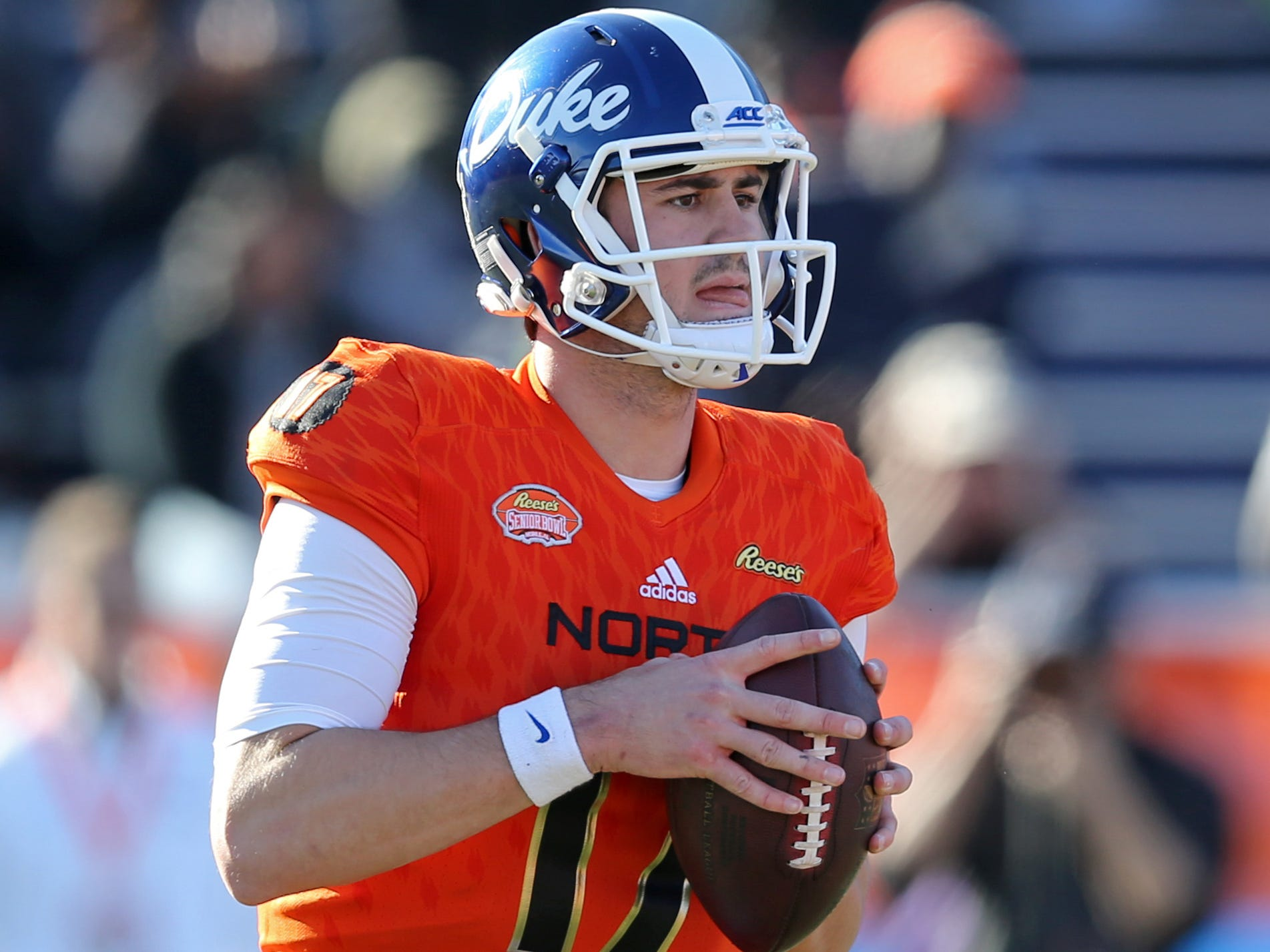 13. Dolphins - Daniel Jones, QB, Duke