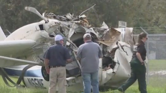A pilot was killed Saturday after his plane lost power and crashed into a Florida home.