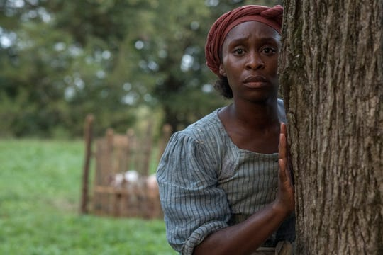 "Cynthia Erivo was nominated for best actress as Harriet Tubman in ""Harriet."""