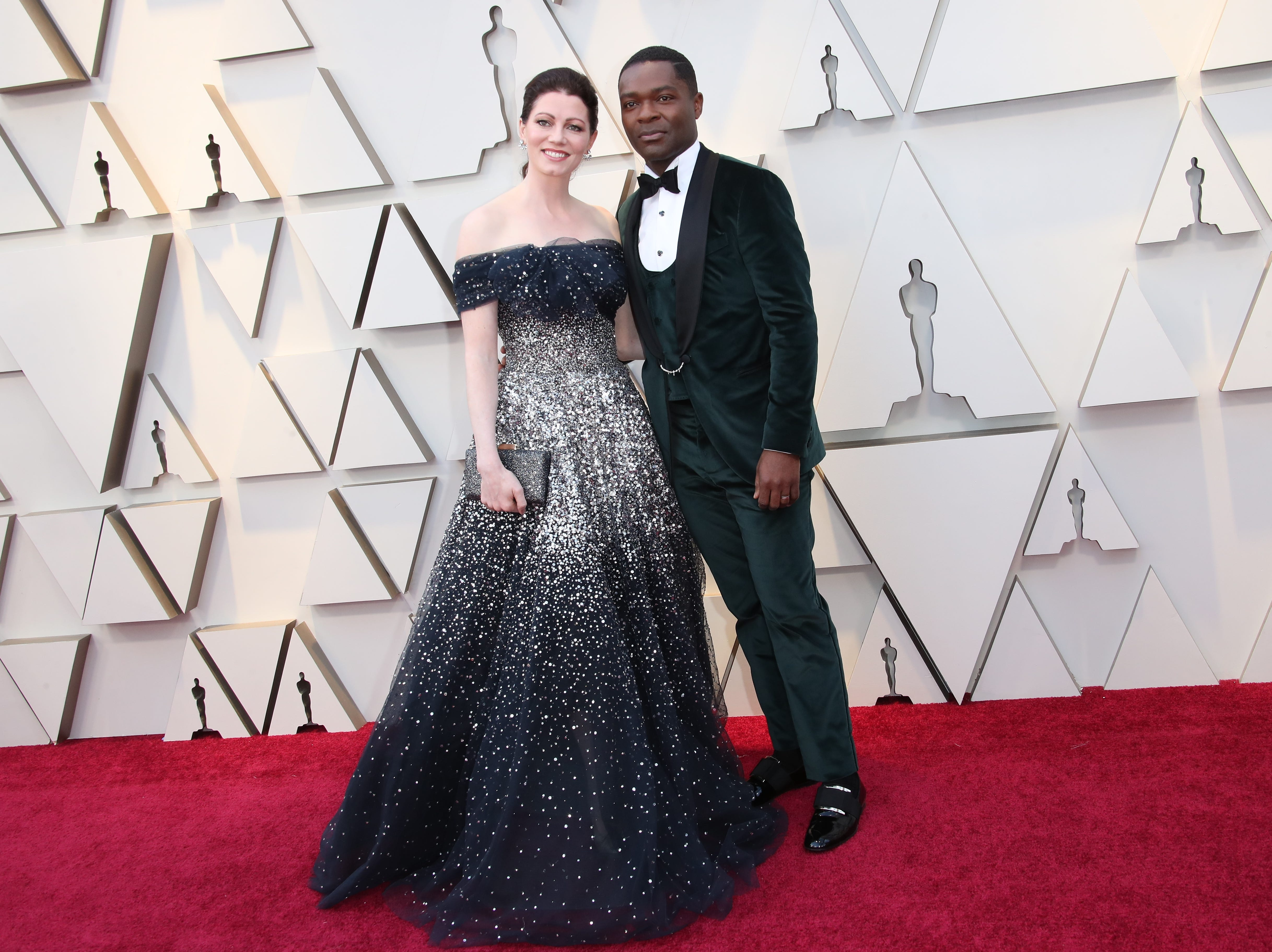 February 24, 2019; Los Angeles, CA, USA; Jessica Oyelowo, left and David Oyelowo arrive at the 91st Academy Awards at the Dolby Theatre. Mandatory Credit: Dan MacMedan-USA TODAY NETWORK (Via OlyDrop)
