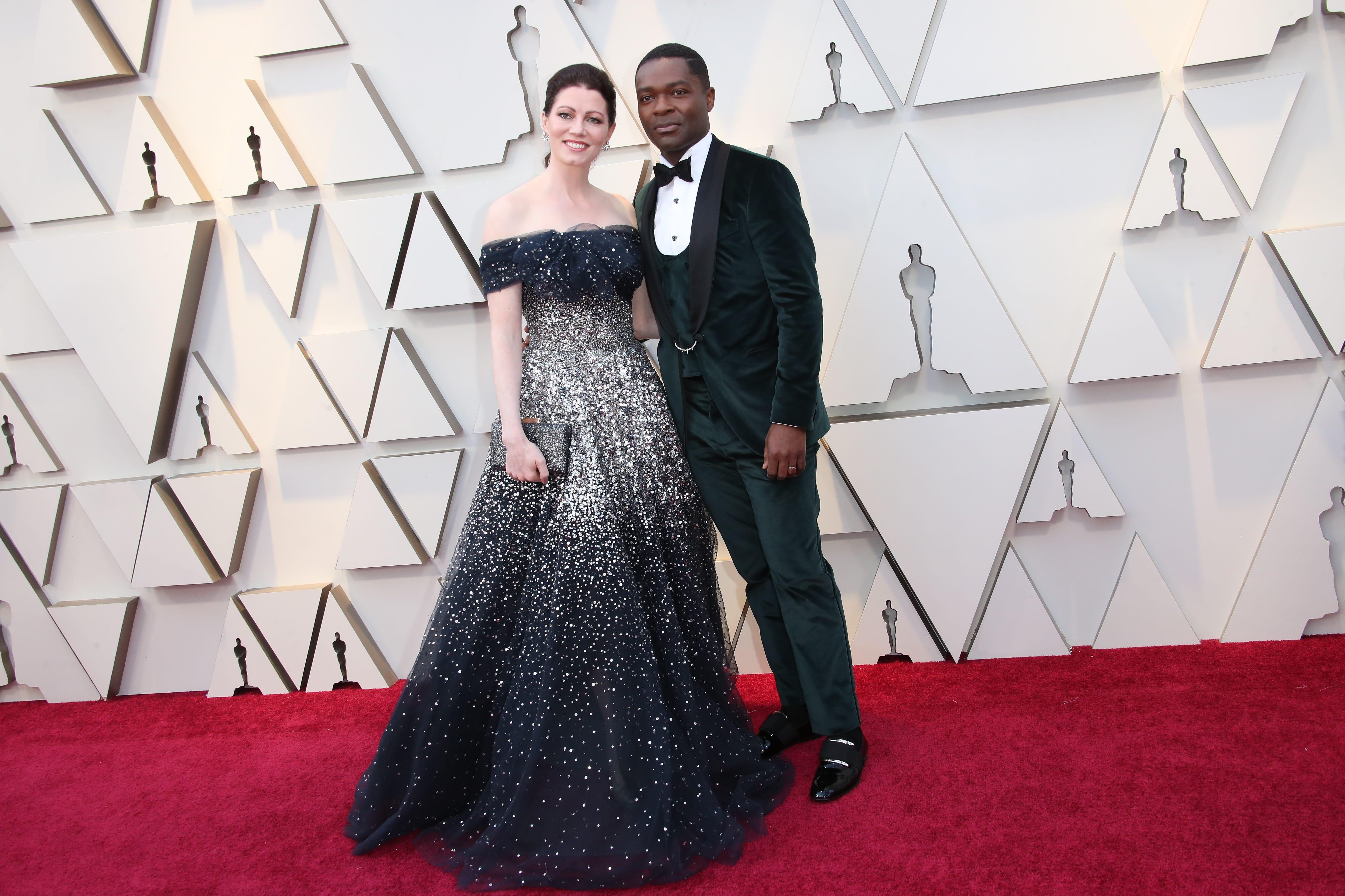 February 24, 2019; Los Angeles, CA, USA; Jessica Oyelowo, left and David Oyelowo arrive at the 91st Academy Awards at the Dolby Theatre. Mandatory Credit: Dan MacMedan-USA TODAY NETWORK (Via OlyDrop)