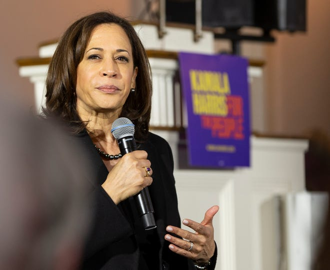 Sen. Kamala Harris and Joe Biden got friendly again after some contentious presidential debates.