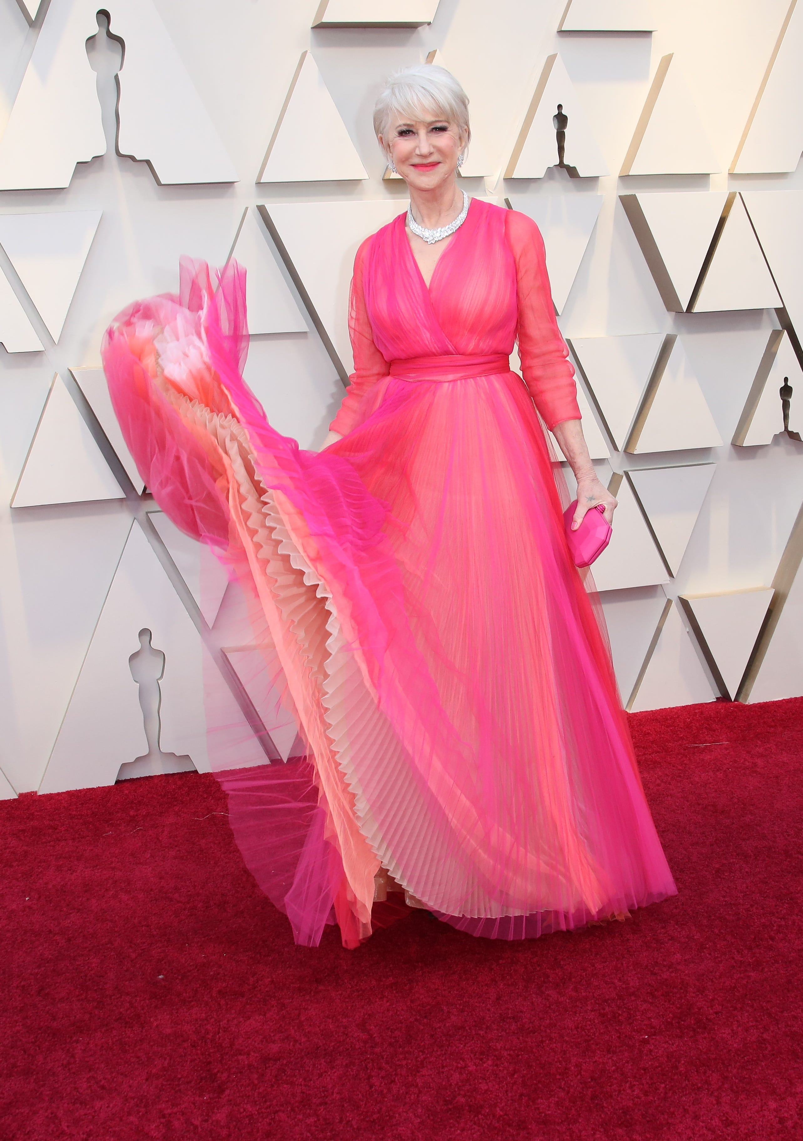 February 24, 2019; Los Angeles, CA, USA; Helen Mirren arrives at the 91st Academy Awards at the Dolby Theatre. Mandatory Credit: Dan MacMedan-USA TODAY NETWORK (Via OlyDrop)