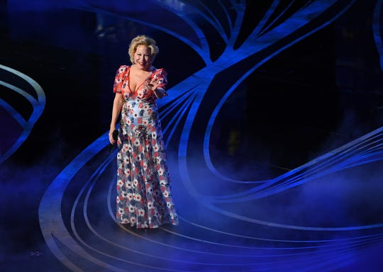 Bette Midler performs during the show.