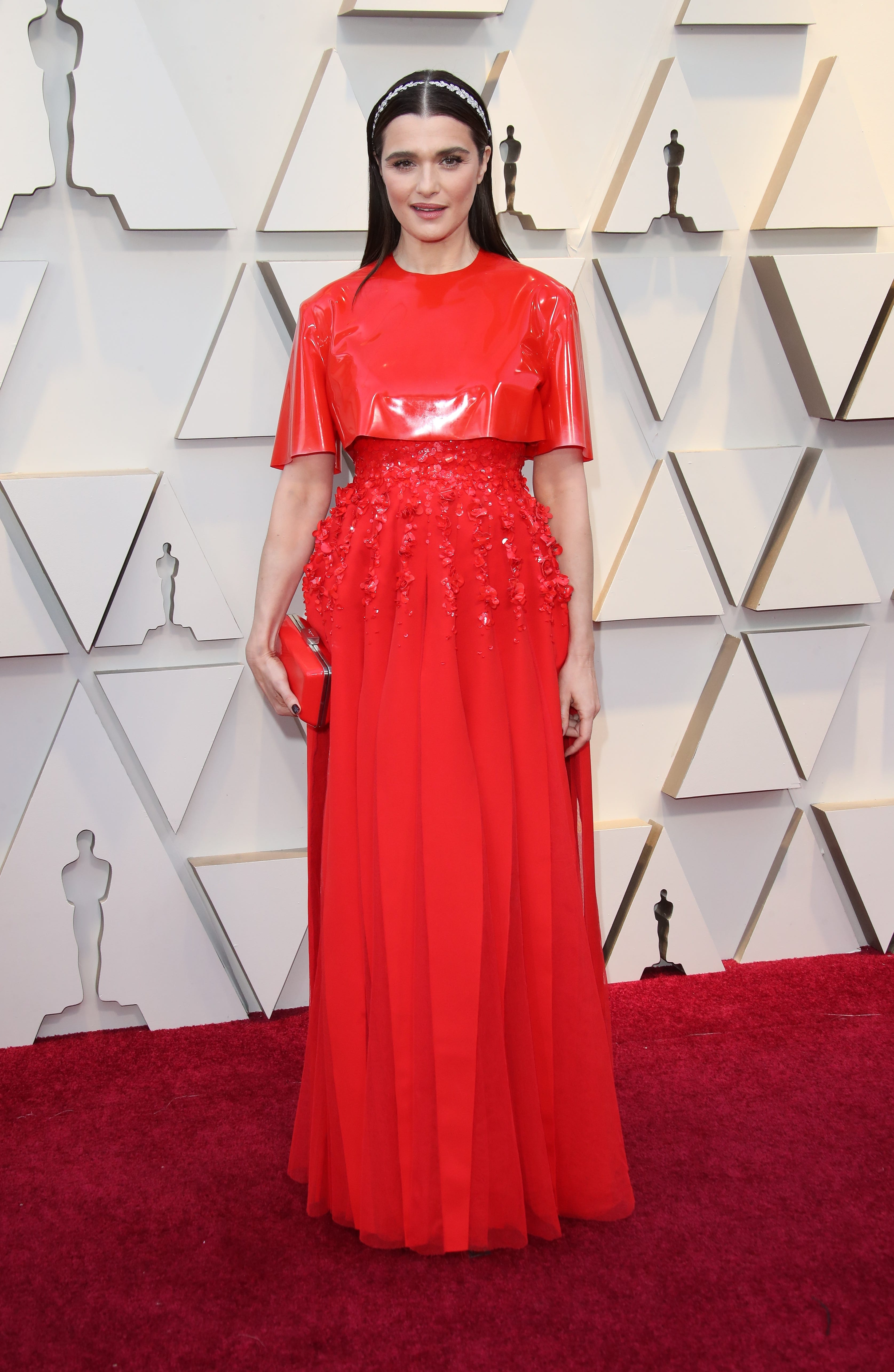 February 24, 2019; Los Angeles, CA, USA; Rachel Weisz arrives at the 91st Academy Awards at the Dolby Theatre. Mandatory Credit: Dan MacMedan-USA TODAY NETWORK (Via OlyDrop)